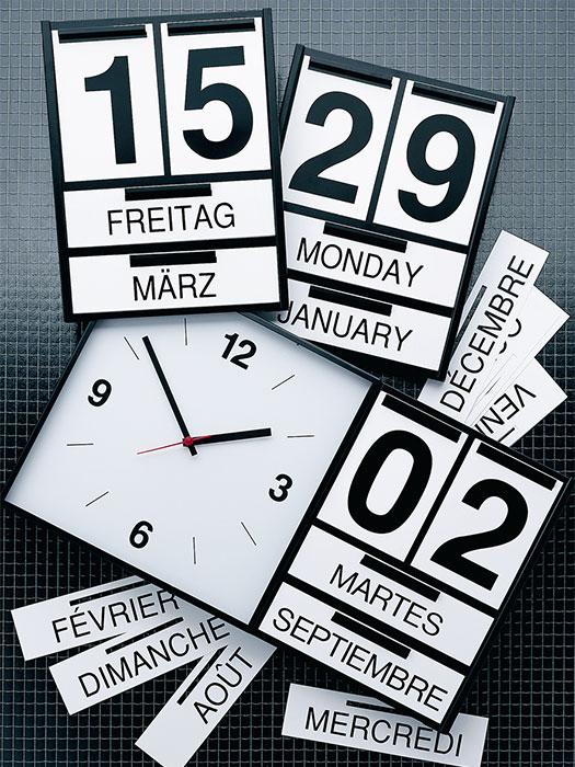 Complementos. Calendarios